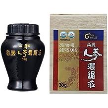 Ilhwa Concentré Pur Extrait 30g Coréen Ginseng, 13% Ginsenosides, IL HWA TOP qualité, Panax ginseng C.A Meyer (importation parallèle)