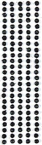 Crystal Stickers Glitter Domes 5mm 64/Pkg-Black by Mark Richards (Crystal Mark Sticker)