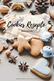Cookies Rezepte Notizbuch: Praktisches Notizheft für deine liebsten Backrezepte - 120 Seiten Notizbuch mit Punktraster zur Dokumentation deiner besten ... und Plätzchen Rezepte - zum selberschreiben