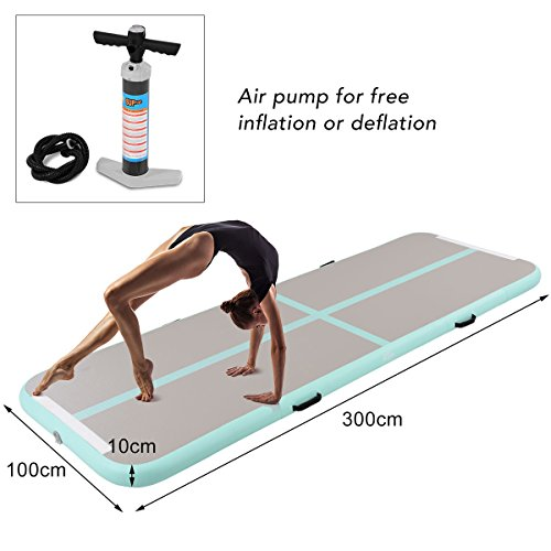 Air Track Floor Tumbling Inflatable Gym Mat Water Sport Training Fitness Ambitious Usa Free Shipping 3m 10ft