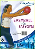 JOHN 16cm Gymball Gymnastikball Ball Therapieball Medizinball Fussball Sitzball