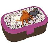 Lutz Mauder 10646 TapirElla Lunchbox Reitende Pferde