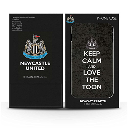 Officiel Newcastle United FC Coque / Etui pour Apple iPhone 7 Plus / Geordie Design / NUFC Keep Calm Collection Amour Toon