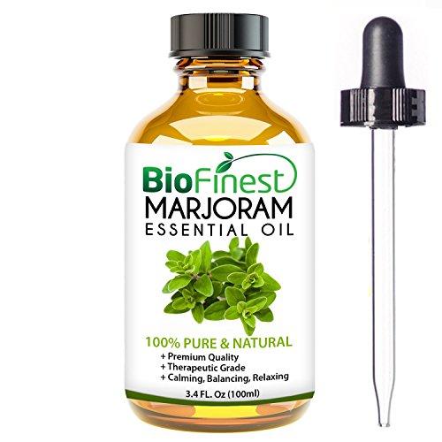 BioFinest Marjoram Oil - 100% Pure Marjoram Essential Oil - Premium Organic...