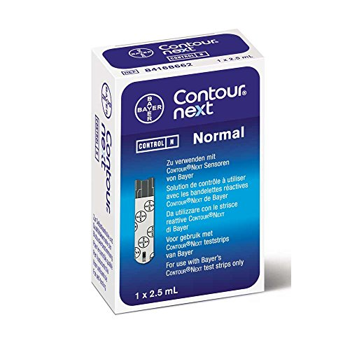 CONTOUR® NEXT Kontrolllösungen, Blutzuckermessgeräte, Lösung, normal 2,5ml