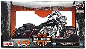 Maisto 1:12 Die Cast Big Harley-Davidson 2013 FLHRC Road King Classic