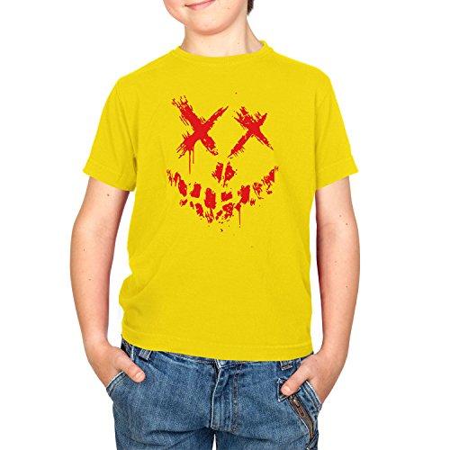 Texlab - Suicide Crew - Kinder T-Shirt, Größe XL, Gelb