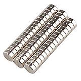 Tinxi 50 Stücke Neodym Mini Magnete Magnet Minimagnet Supermagnete Haushaltsmagnete