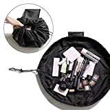 MLMSY Makeup Bag Drawstring Portable Travel Small Cosmetic Bag Magic Makeup Pouch Toiletry Bags Makeup Storage Organizer Perfect for Women Girls