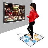 Delaman Wii Dance Mat Doppio Tappetino da Ballo Antiscivolo per Console Nintendo Wii