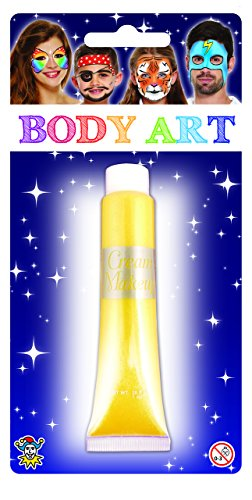 Halloween Cream Make Up Face & Body Paint 28.5ml From Henbrandt -Metallic Gold