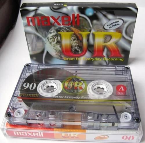 Preisvergleich Produktbild Maxell Cassette Audio UR 90 minutes - lot de 60 pieces