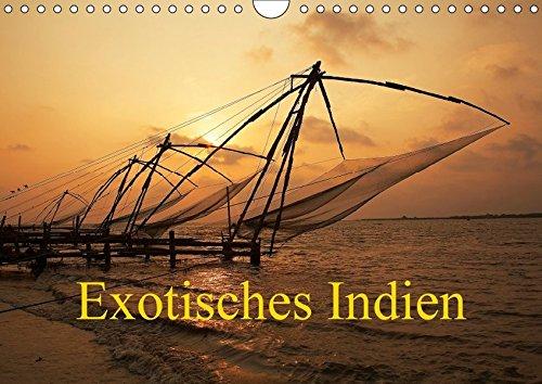 Exotisches Indien (Wandkalender 2018 DIN A4 quer): Indien in Kultur und Landschaft (Monatskalender, 14 Seiten )