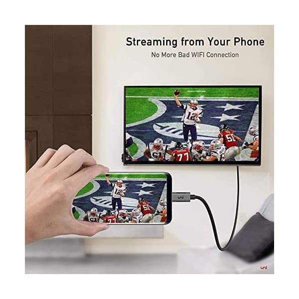 Cble-USB-C-vers-HDMI4K60Hz-uni-Cble-Type-C-vers-HDMIThunderbolt-3-Compatible-pour-MacBook-Pro-20172016-Samsung-Galaxy-S9S8Note-9Note-9-Surface-Book-2-Dell-XPS-etc-Gris-18m