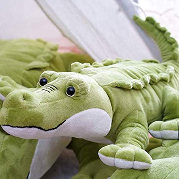 Oreiller De Crocodile Doux En Peluche Jouet En Peluche Oreiller Coussin Enfants