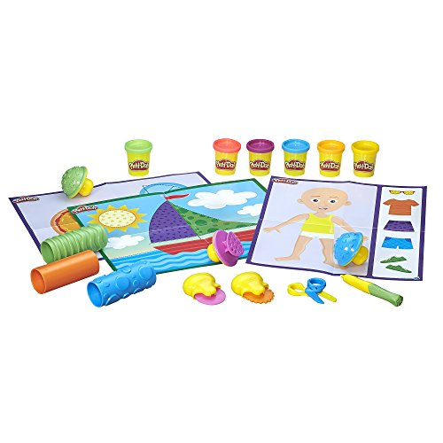 Play-Doh Shape and Learn Textures and Tools