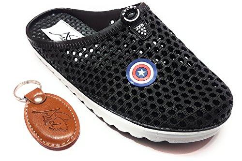 Angel Fashion Stylish & Comfortable Captain America Crocs For Men