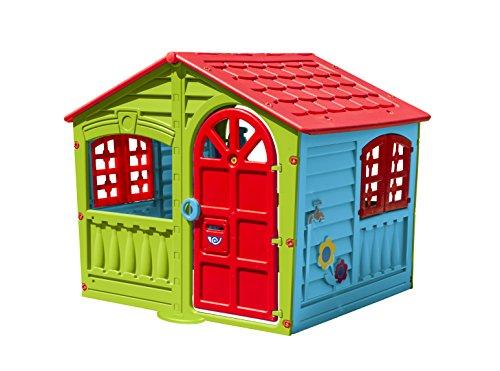RunRunToys - Casa de juguete Fun House para niños de 2 años con colores muy llamativos (8001)