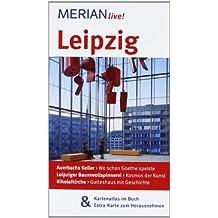 Leipzig: Mit Kartenatlas im Buch und Extra-Karte zum Herausnehmen (MERIAN live)