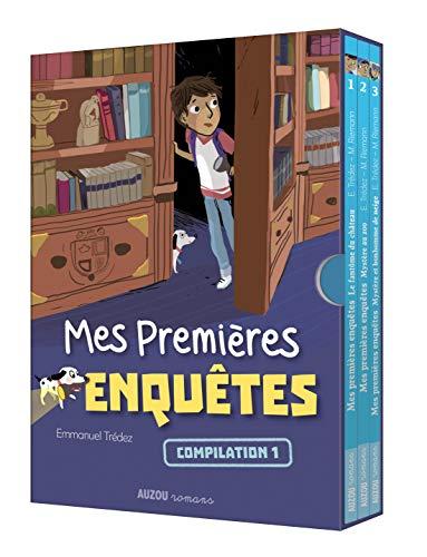 Mes premières enquêtes - Ecrin 3 romans (Le fantôme du château, Mystère au zoo, Mystère et bonhomme de neige) par Emmanuel Trédez