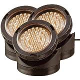 Laguna Set 3 Spots 40 LED + Détecteur