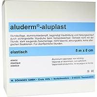 ALUDERM aluplast Wundverb.Pfl.8 cmx5 m elast. 1 St Pflaster preisvergleich bei billige-tabletten.eu