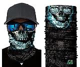 ILOVEDIY Multifunktionstuch Totenkopf Maske Clown Halstuch Halloween Kostüme Motorrad Ski Jagen Fahrrad (#3)