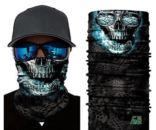 ILOVEDIY Multifunktionstuch Totenkopf Maske Clown Halstuch Halloween Kostüme Motorrad Ski Jagen Fahrrad (#3) -