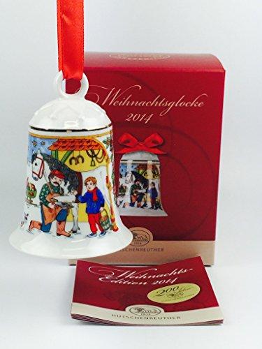 Hutschenreuther Porzellan Weihnachtsglocke 2014 in der Originalverpackung NEU 1.Wahl