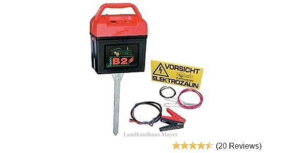 Berühmt Weidezaungerät mit Multifunktion 9V/12V/230V: Amazon.de: Haustier &ML_59