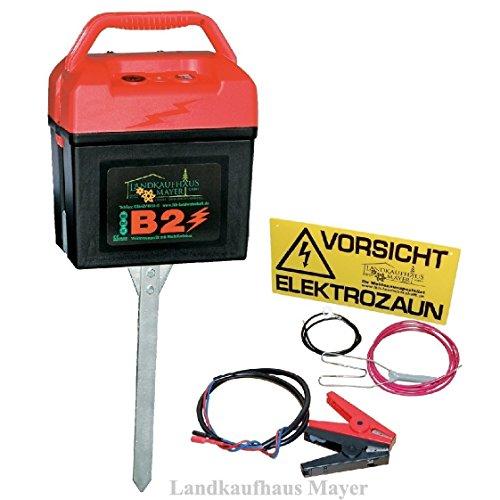 *Weidezaungerät mit Multifunktion 9V/12V/230V*