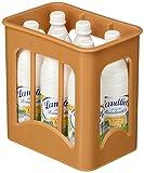 tanner 0074.0 - Volvic Kiste aus Kunsstoff, gefüllt mit 6 Flaschen