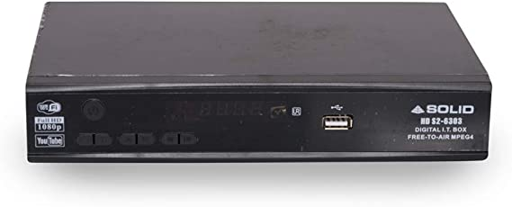 Tiktronix-6303 Solid Free to Air MPEG 4 HD Set top Box with 2 Pendrive Slot , Internet Support Through Dongle