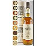 Oban 14 Jahre Single Malt Whisky mit 9 DreMeister Edel Schokoladen in 9 Variationen, kostenloser Versand