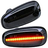 rm-style LED SEITENBLINKER schwarz kompatibel für alle OPEL Astra G | OPEL Zafira A [71011-1]
