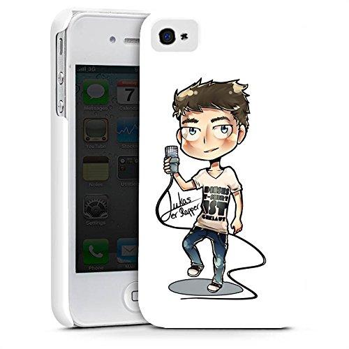 Apple iPhone X Silikon Hülle Case Schutzhülle Lukas der Rapper Fanartikel Merchandise Youtuber Premium Case glänzend