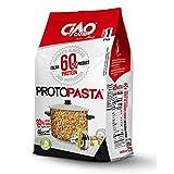 Pasta Proteica 300 gr (6x50 gr) -TUBETTI - Altissimo contenuto di proteine (60%) - SP604