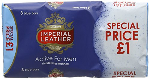Imperial Leather Active Soap for Men 100 g - Pack of 6