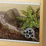 Customised Tortoise Tank Vinyl Decal Sticker Reptile Vivarium Car Window Personalised - DESIGNED AND CREATED BY EPIC MODZ