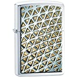 Zippo 60.001.986 Briquet design Collection Spring chromé brossé
