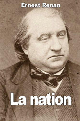 La nation par Ernest Renan