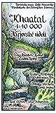 Khaatal 1:10000: Wanderkarte der Böhmischen Schweiz. Zeidler - Wolfsberg - Schwarzes Tor. Das Hintere Land