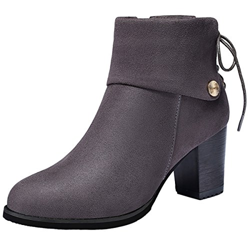 gheaven-cyber-monday-sales-martin-boots-fashionable-high-heeled-boots-size-4-uk-gray
