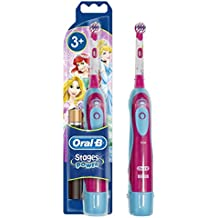Oral-B  Stages Power - Cepillo de dientes electrico  (diseño puede variar, Princesas/Cars)