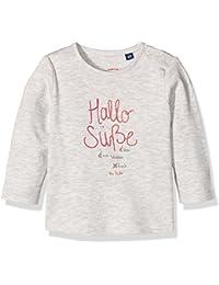 TOM TAILOR Kids Baby-Mädchen Slogan Print Langarmshirt