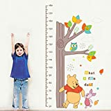 Smart Art Disney Winnie The Pooh Wall Stickers Wall Decals Wanddekorationen Tapete zum Schlafzimmer zu Hause DIY-Design