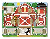 Melissa & Doug 14592 Farm zum Versteckenspielen, Mehrfarben