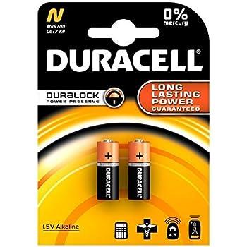 10 x DURACELL LR1 ALKALINE SECURITY BATTERIES CLOCK MN9100 N TYPE 910A E90 1.5v