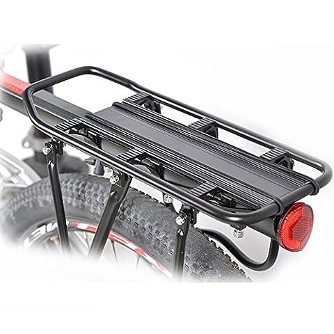 Fahrrad-Gepäckträger,hochwertiger,Sattelstützgepäckträger,Mountain Bike Gepäckträger,normaler Gebrauch wird nicht verformt,verwendbar für Durchmesser unter 33mm Fahrrad THKJW
