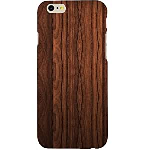 Casotec Wooden Texture Design Hard Back Case Cover for Apple iPhone 6 / 6S